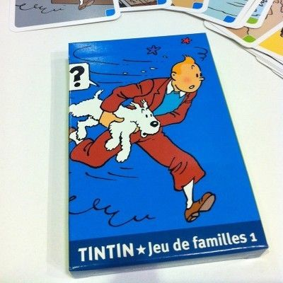 tintin card game