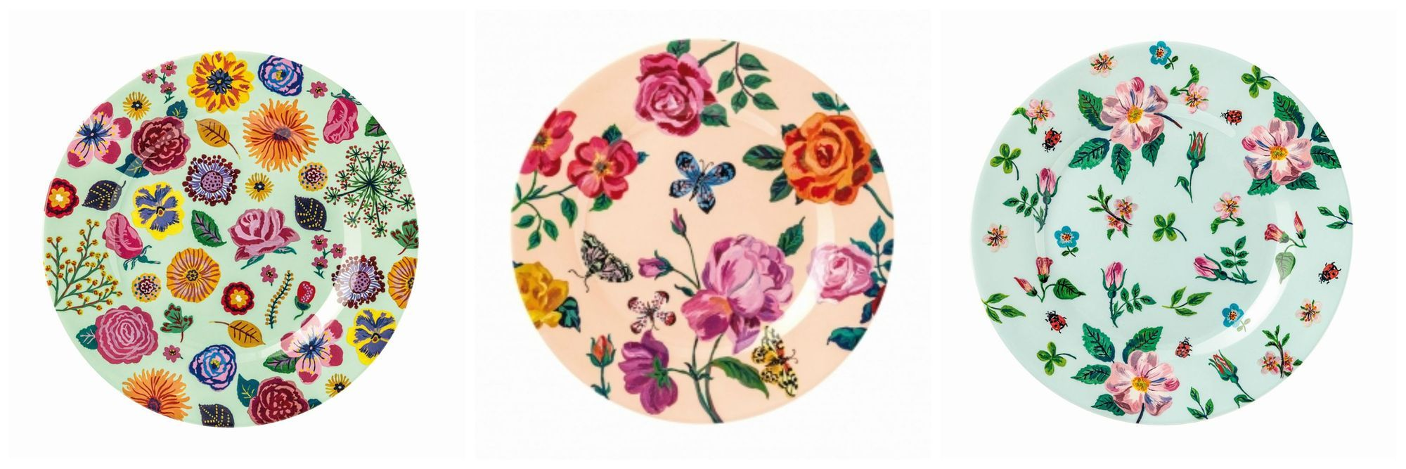 Why not buy more than one style to have a really funky tableware collection for picnics u0026 outdoor eating this summer?  sc 1 st  Birdkids & Tableware For Summer Picnics | Melamine Tableware