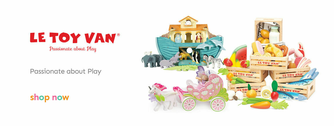 Shop Our Le Toy Van Range