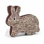 Anne-Claire Petit Rabbit with Squeak - chocolate