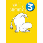 Hype Moomin Birthday Card - Age 3