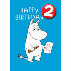 Hype Moomin Birthday Card - Age 2