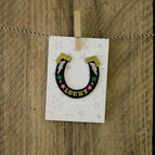 Iron - on Patch - Horse Shoe