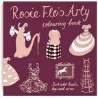 Rosie Flo Colouring Book - Arty