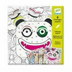 Djeco Colouring in - Windows on Monsters