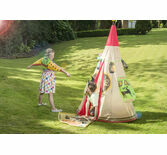 Traditional Garden Games - Wigwam Play Tent Set