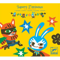 Djeco Paper Garlands - Super Animals