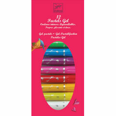 Djeco 12 Gel Pens Pastels – Girly