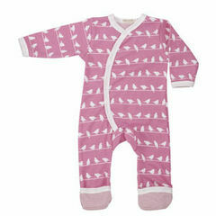 Pigeon Organics Bird Silhouette All in One – Pink