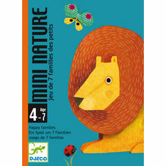 Djeco Card Game - Mini Nature
