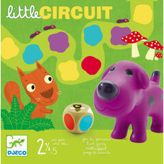 Djeco Little Circuit Animals Board Game