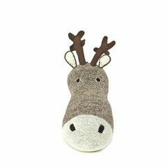 Anne-Claire Petit Reindeer Head - chocolate