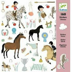 Djeco Sticker Collection - Horses