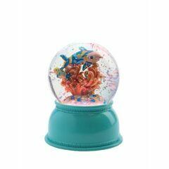 Djeco Glitter Globe Night Light - Fishes
