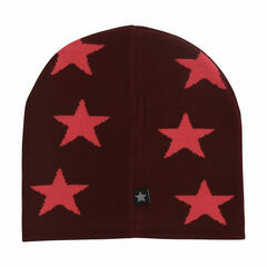 Molo Colder Star Beanie Hat - Grape Wine