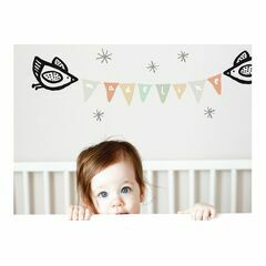 Wee Gallery Birdie Banner Wall Graphics