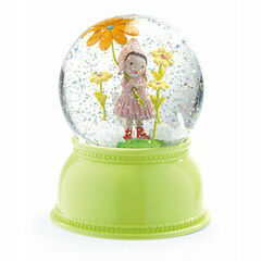 Djeco Glitter Globe Night Light - Sweet Girl