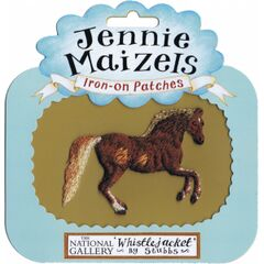 Jennie Maizels Whistlejacket by Stubbs (Horse) Iron-on Patch