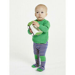 Braveling  Apple-a-Day Stripe Tights