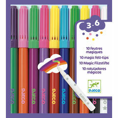 Djeco 10 Magic Felt Tip Pens