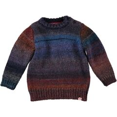 Tootsa MacGinty Loch - multi colour knit - blue