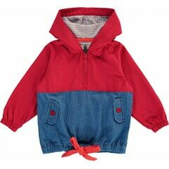 Tootsa MacGinty Cadeau Packaway Jacket - Bright Red