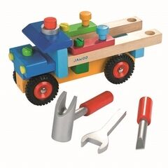 Janod Original DIY Wooden Truck (17 Piece)