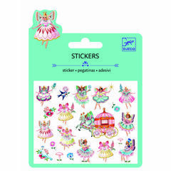 Djeco Mini Glitter Stickers - Fairies