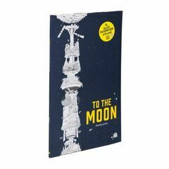 To The Moon - The Tallest Colouring Book in the World