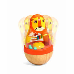 Djeco Roly Poly Lion Early Development Toy - Roly Leon