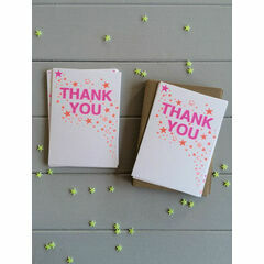 Petra Boase Confetti Set of 12 Thank you Cards