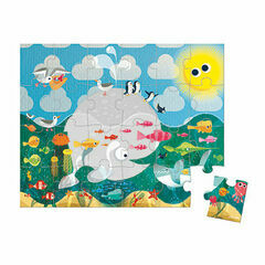 Janod 24 Piece Jigsaw Puzzle in a Box - Ocean