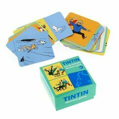 Tintin Memory Card Game - Actions