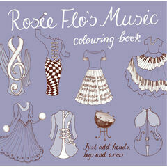 Rosie Flo Colouring Book - Music