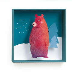 Djeco Box-Frame 3D Picture - Bear