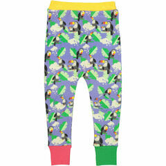 Iquitos Harem Trousers - Periwinkle Toucans