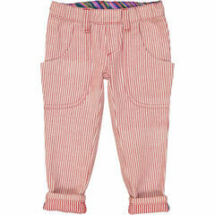 Carlos Slim Fit Jeans - Red Denin Stripe