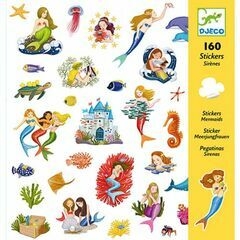 Djeco Sticker Collection - Mermaids
