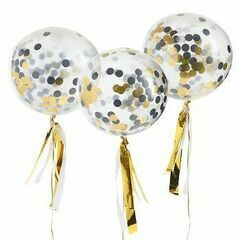 Confetti Gold Balloon Kit