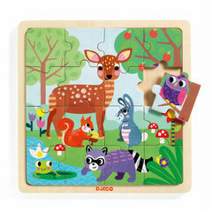 Djeco Wooden Puzzle - Forest