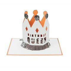 Crowned Birthday Queen Card