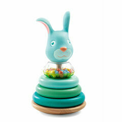 Djeco Cascarott Rabbit Stacking Game