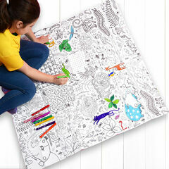 Eggnogg Colour In Giant Poster - Puzzle