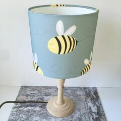 Molly & Lola Bee Lampshade - Table Lampshade (20cm)