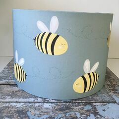 Molly & Lola Bee Lampshade - Table Lampshade (30cm)