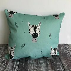 Molly & Lola Zebra Mini Cushion (25cm)
