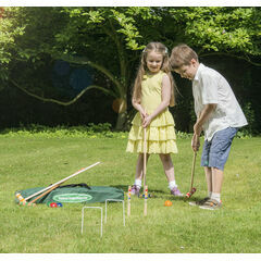 Traditional Junior Croquet Set