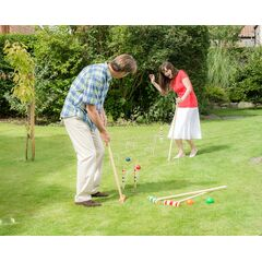 Traditional Family Croquet Set