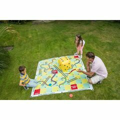 Traditional Garden Games - Garden Snakes & Ladders (2m x 2m) 115