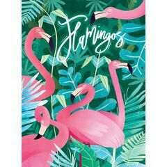 Fantastic Animals: Flamingos 500 Piece Jigsaw Puzzle